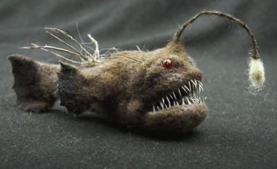 Grisha Dubrovsky – Piranha, toys art / http://www.fadeeva.com/