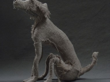 Holy smoke-Dog sculpture2