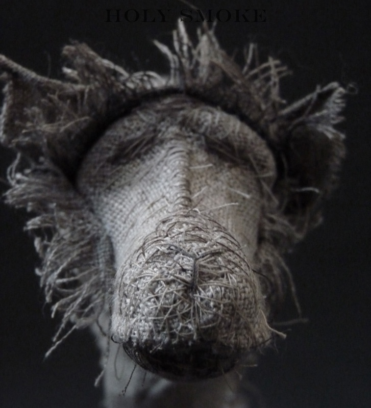 Holy smoke-Dog sculpture7