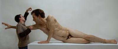 Jamie Salmon – Sculpture hyperrealiste