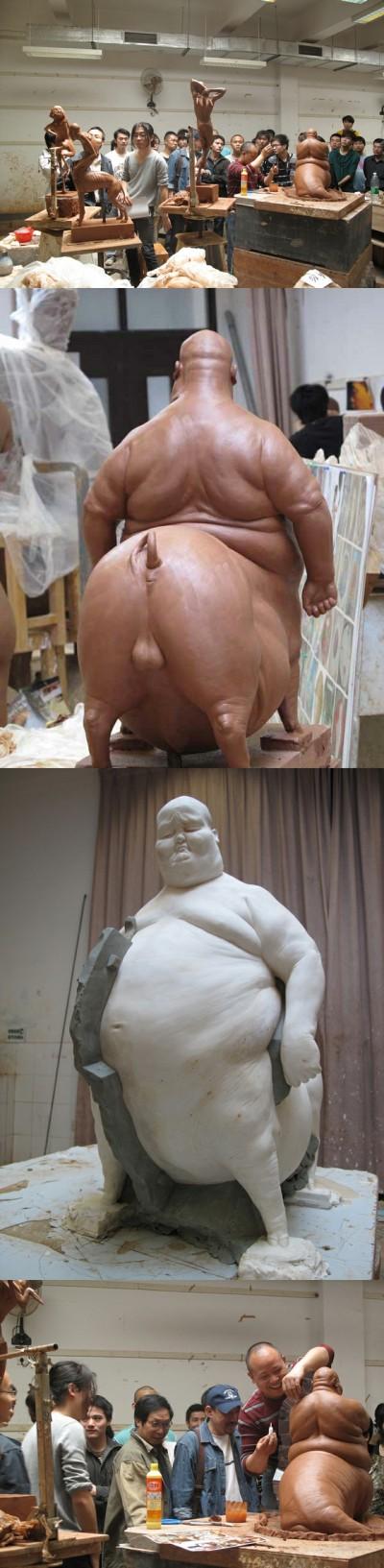 Sculpture Liu Xue