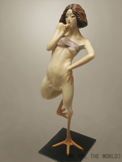 Sculpture Liu Xue