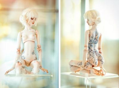 Marina Bychkova- Enchanted Doll at the Catherine's Palace in St. Petersurg / http://www.enchanteddoll.com