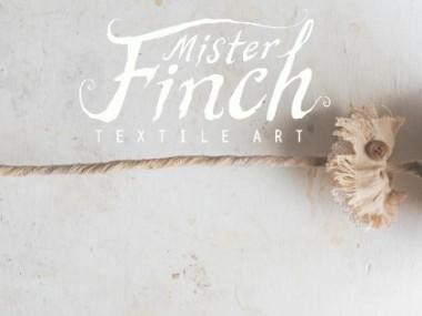Mister Finch, Pissenlit Textile Art
