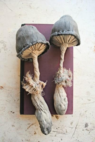 Mister Finch, textile art sculpture – http://www.mister-finch.com