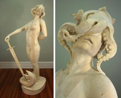 Morgan Herrin – Sculpture bois / www.morganherrin.com / Wood sculptures