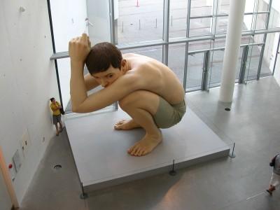Ron Mueck – Giant Boy – 1999