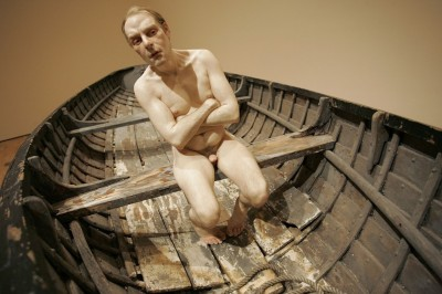 Ron Mueck -Man in a boat