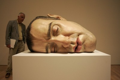 Ron Mueck -Mask II