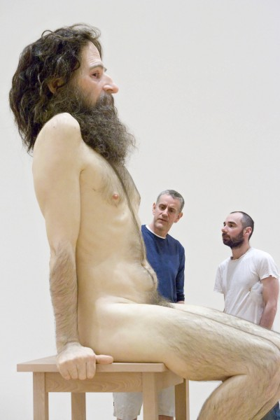 Ron Mueck – Wild Man Sculpture