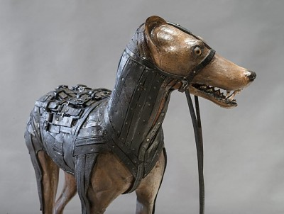 Ron Pippin – sculptures wolf