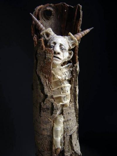 Sabrina Gruss – sculptures mixed-media