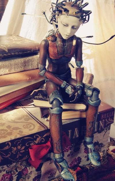 Steampunk Art Dolls de Rackus Ruckus / http://allthatrackus.tumblr.com/