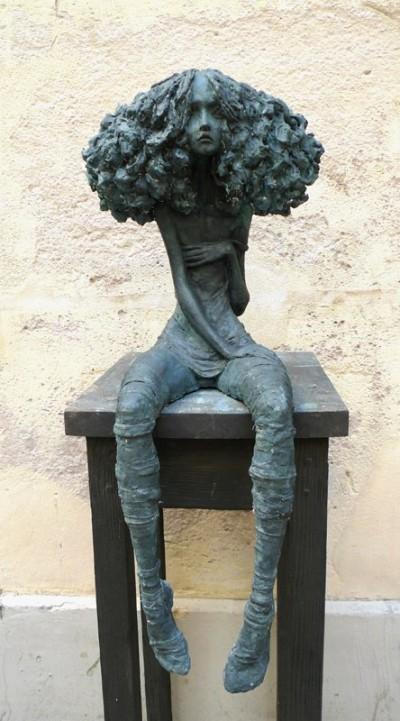 Valérie Hadida – Candide sculpture