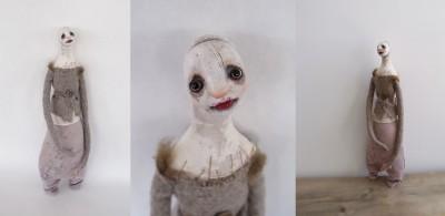 "Stephanie Vandal – ""Brunante"" / Mixed Media ART >> http://goo.gl/XTFH2T"