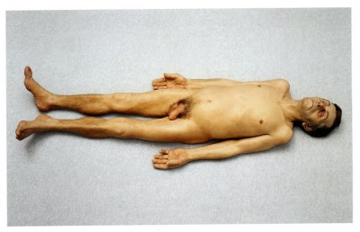 Dead dad – Ron Mueck, sculpture