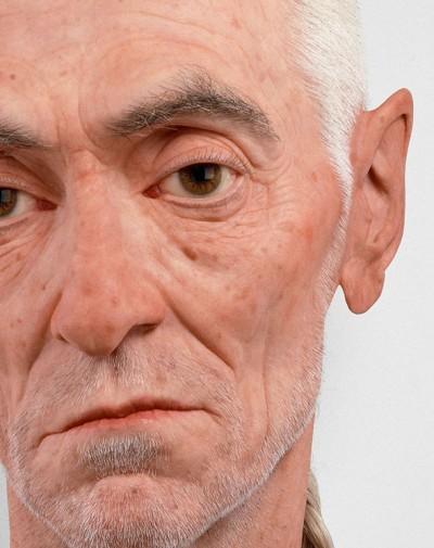 Sculpture hyperrealiste Evan Penny