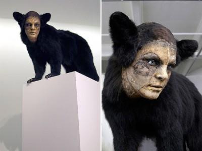 kate clark – sculptures animal/human taxidermy art – http://www.kateclark.com/