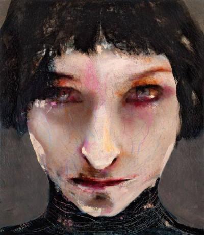 lita cabellut – portrait femmes – http://www.litacabellut.com/