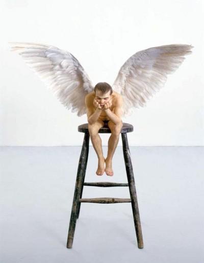 ron mueck – l'ange