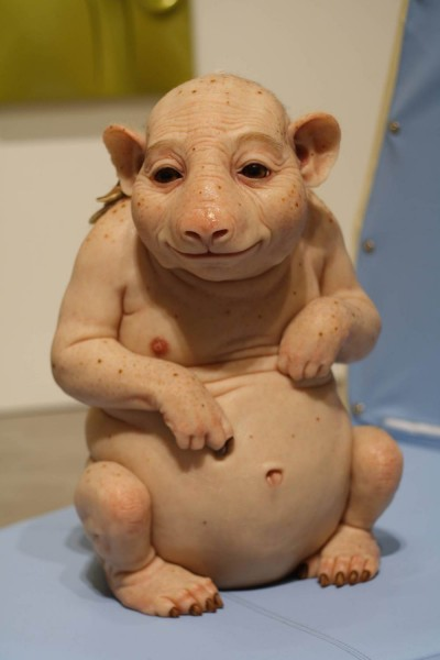 Patricia Piccinini – Northern Hairynosed Wombat