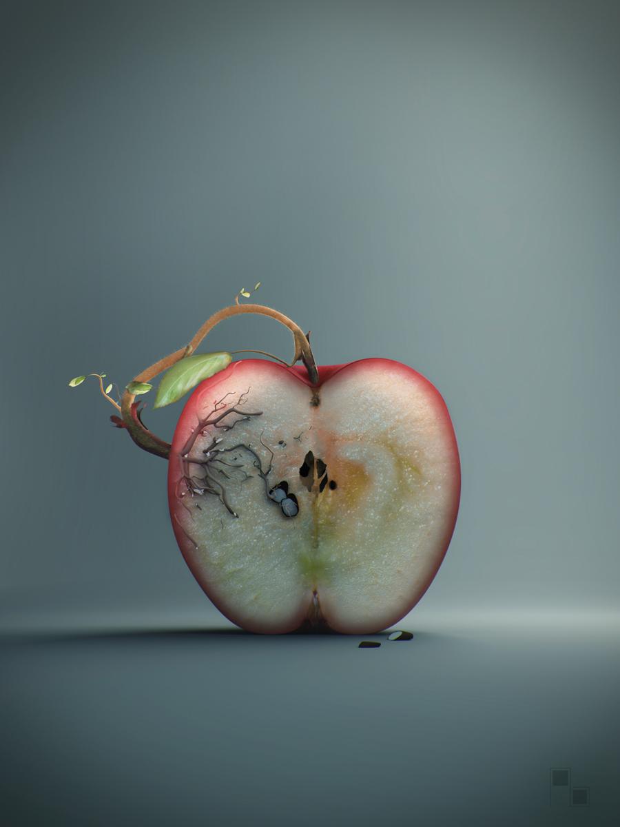 Andrey Bobir- apple tree