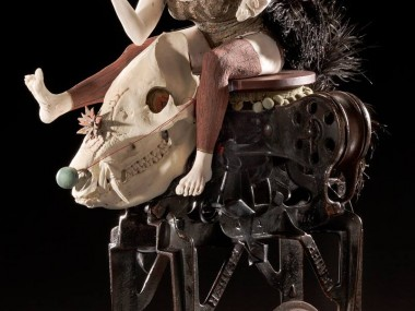 Ceramic : mixed media sculpture by Kirsten Stingle