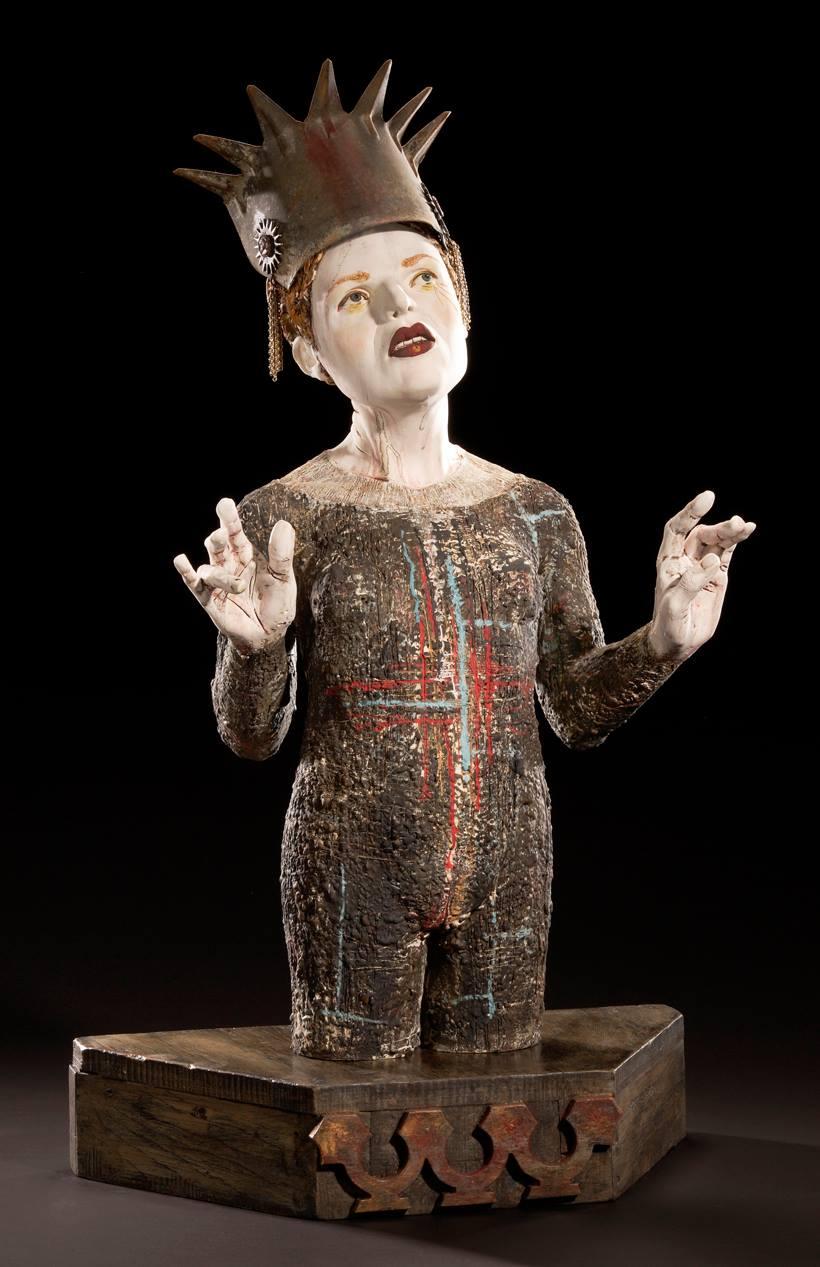 Ceramic : mixed media sculpture by Kirsten Stingle