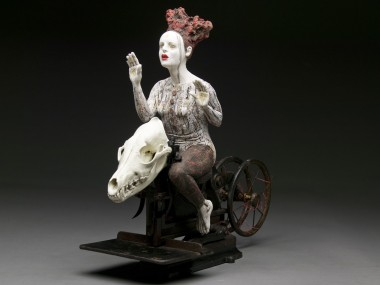 Kirsten Stingle- sculptures mixed art