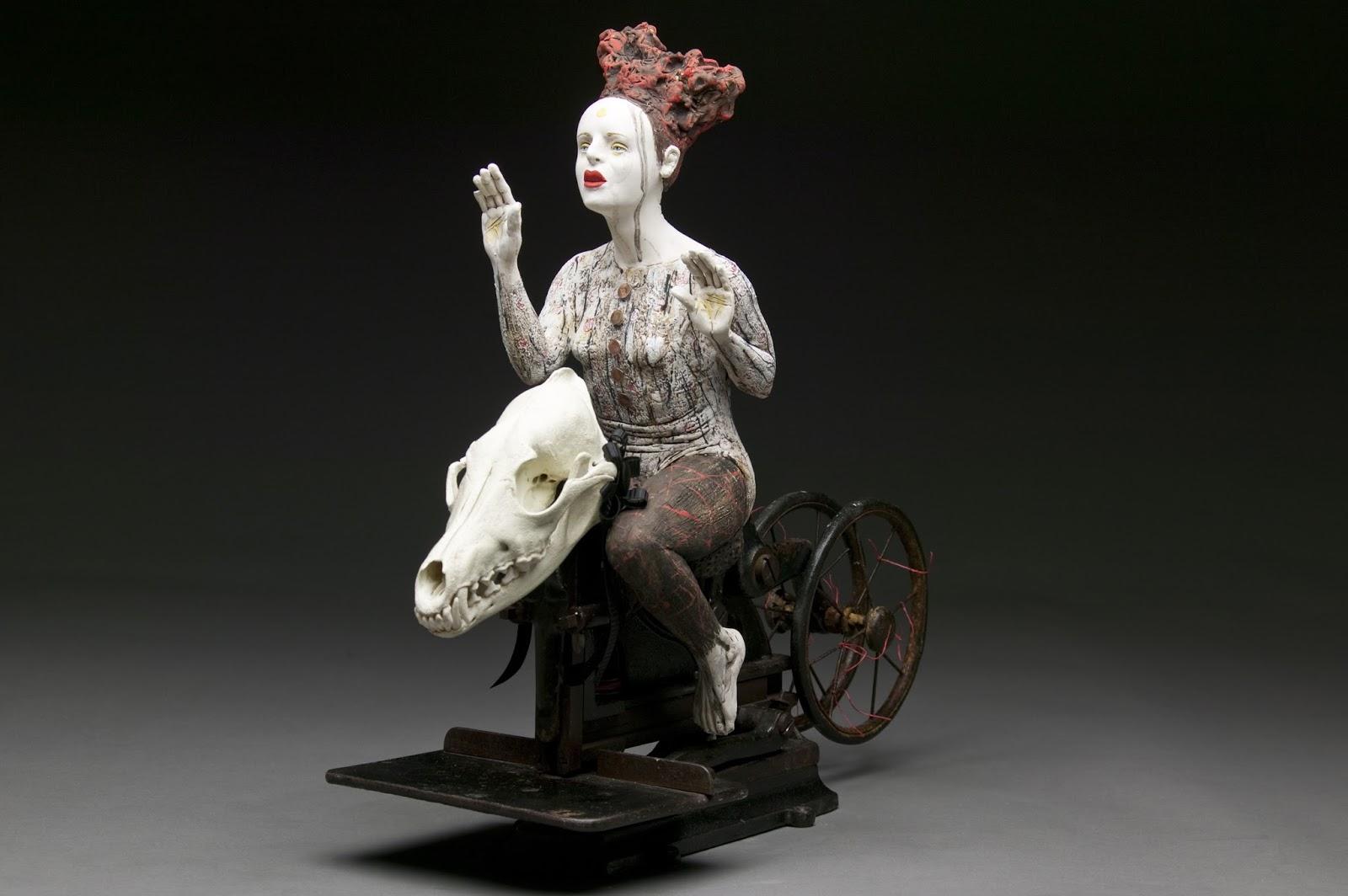 Kirsten Stingle- sculptures mixed art