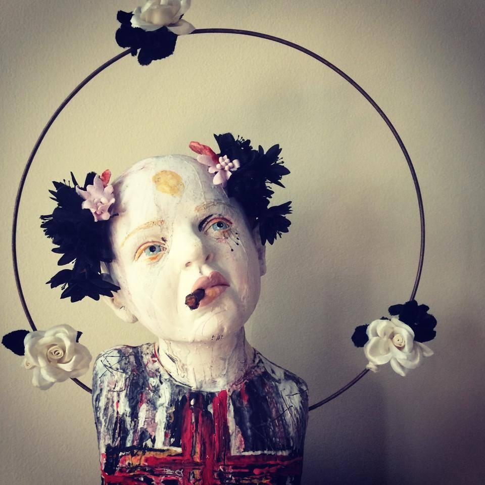 Kirsten Stingle sculptures – new serie Bestioles 2014