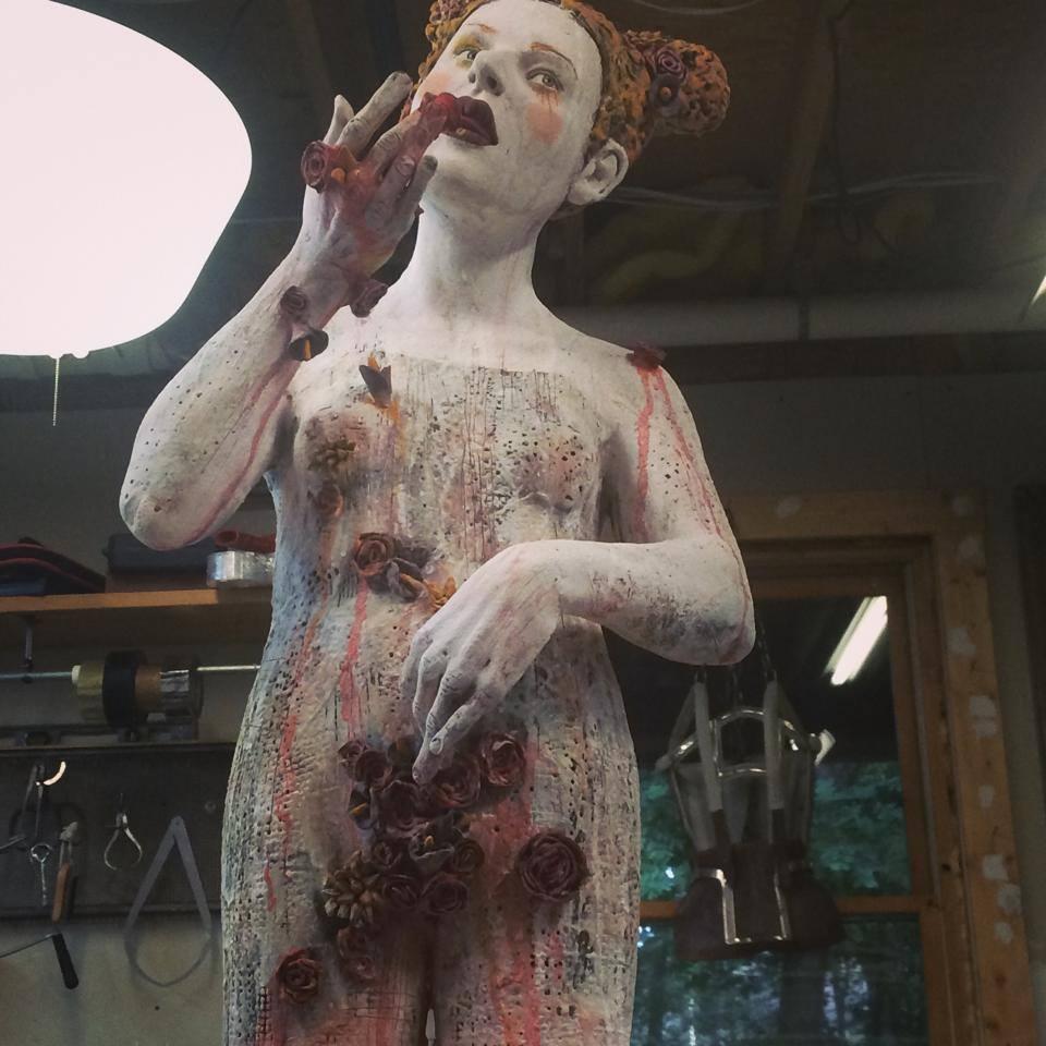 Kirsten Stingle sculptures 2014