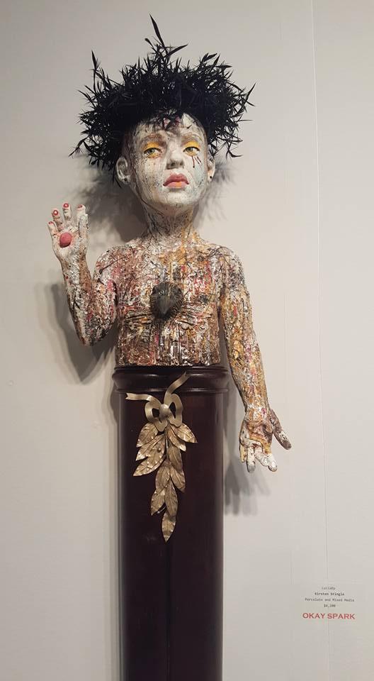 Kirsten Stingle sculptures