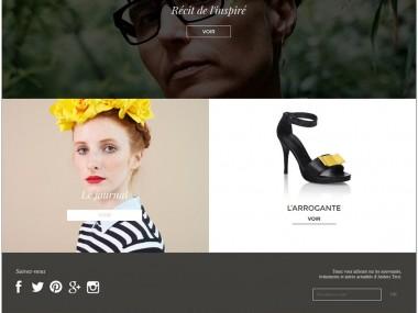 Site responsive – Ateliers Tersi