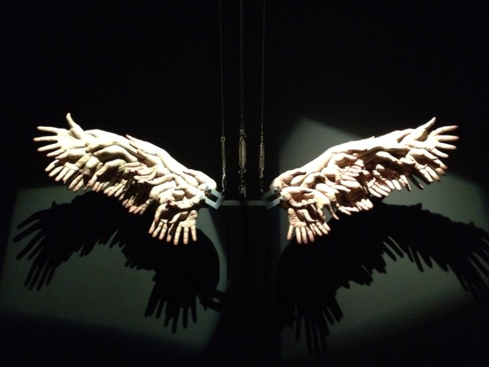 The-Wings - Sculpture de Xooang Choi