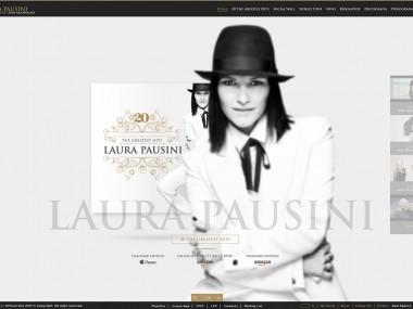 laura pausini – site responsive music
