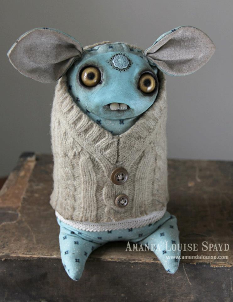 Amanda Louise Spayd-artiste mixed-media sculpture