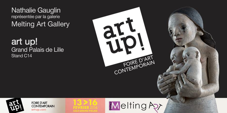 EXPO au grand Palais de Lille - Nathalie Gauglin - sculptures