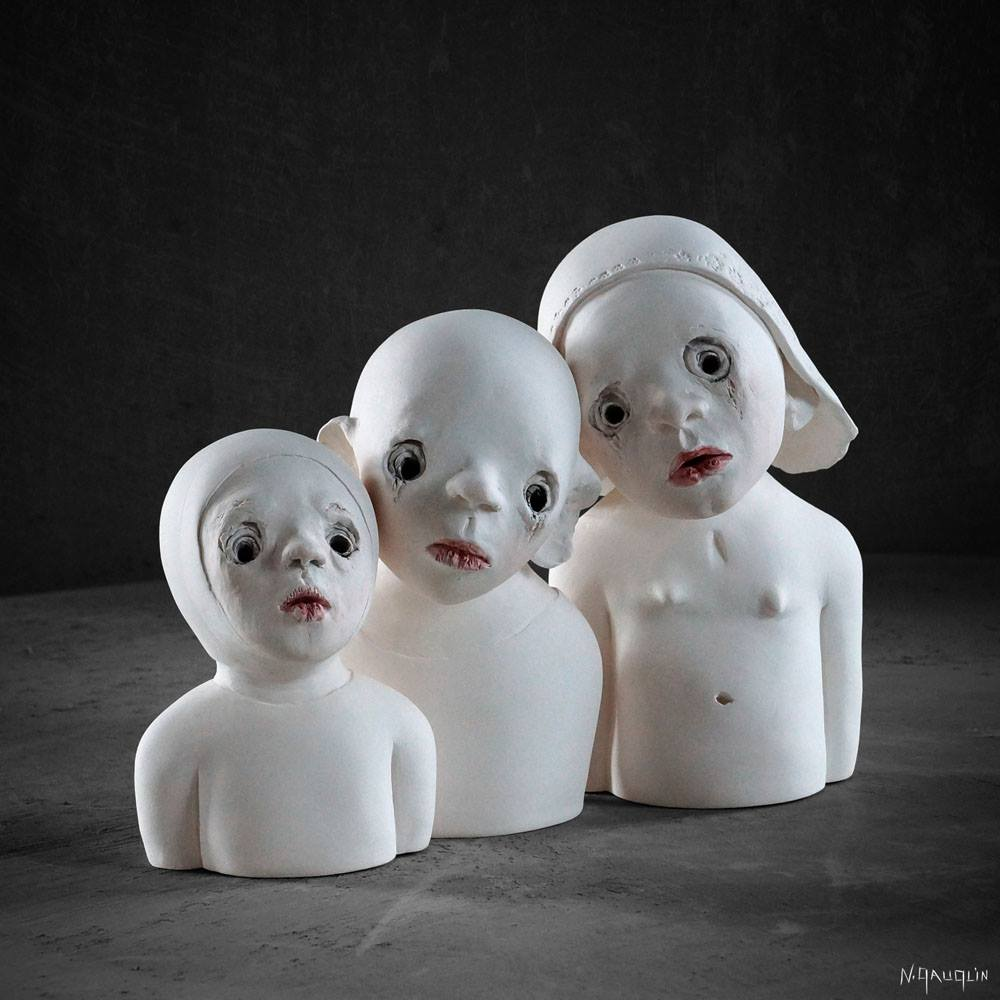 Nathalie Gauglin – Sculptures