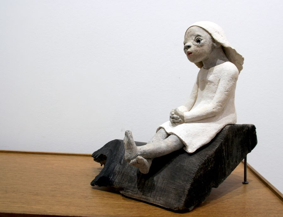 Nathalie Gauglin – la petite reveuse sculpture