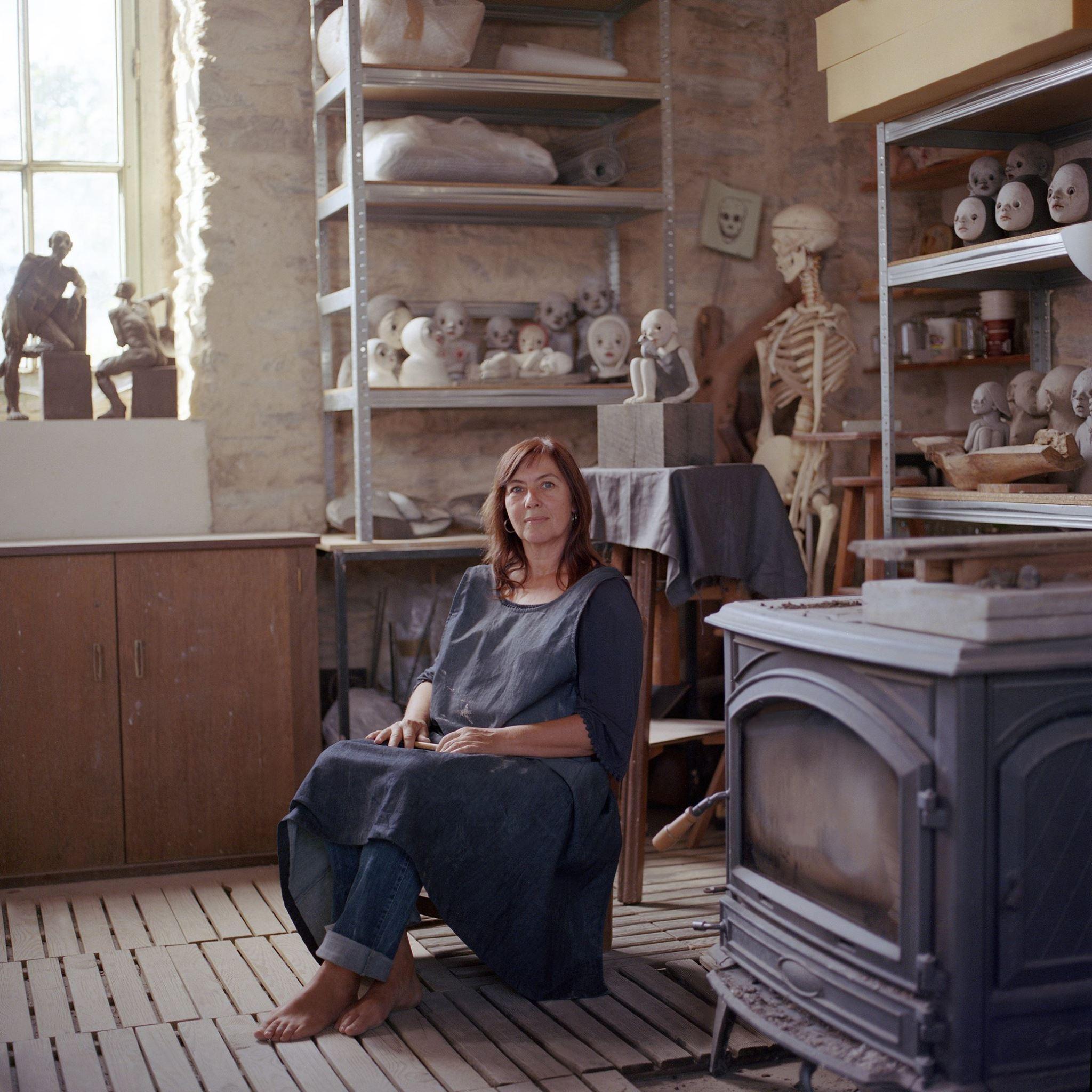 Nathalie Gauglin – portrait artiste sculptures