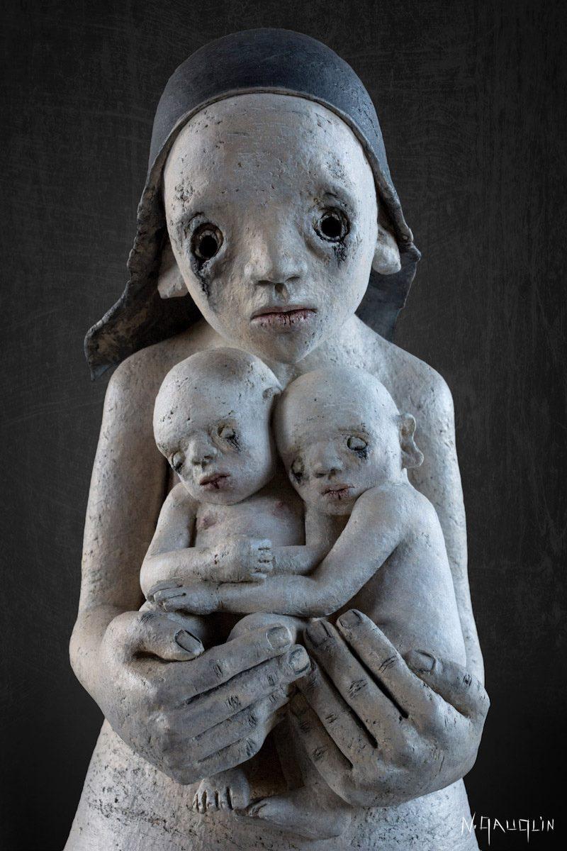 "Nathalie Gauglin – Sculpture ""La Citadelle"""