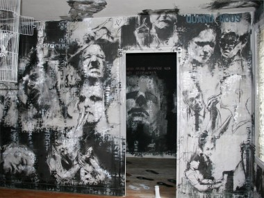 guy denning wall drawing