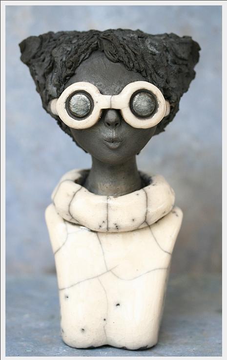 hilda soyer, sculptrice ceramiste raku