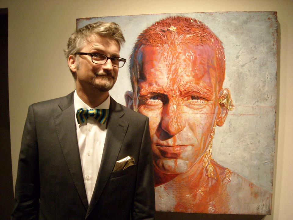 Daniel Barkley – peintures – portrait artist