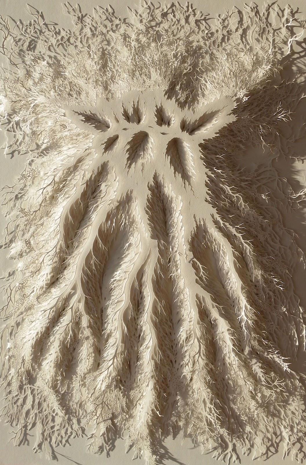 Rogan Brownart – Growth – layered handcut paper 110x75cms