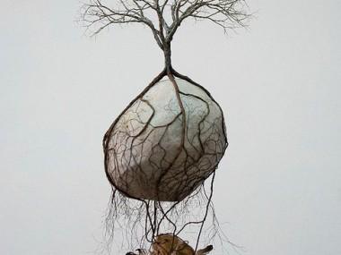Jorge Mayet – sculpture racine, arbre