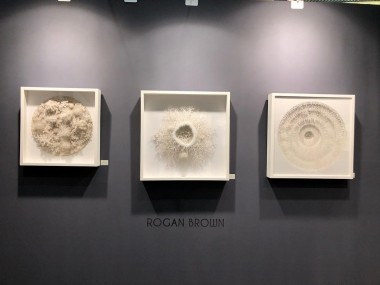 Rogan Brown – Paper sculptures expo