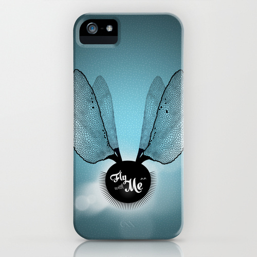fly with me - Ailes de libellule - iphone