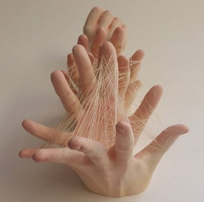 Ronit Baranga #ART #BARANGA #SCULPTURE #CLAY #HANDSCULPTURE #EXHIBITION